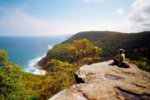 Otford lookout, Bundeena to Otford walk