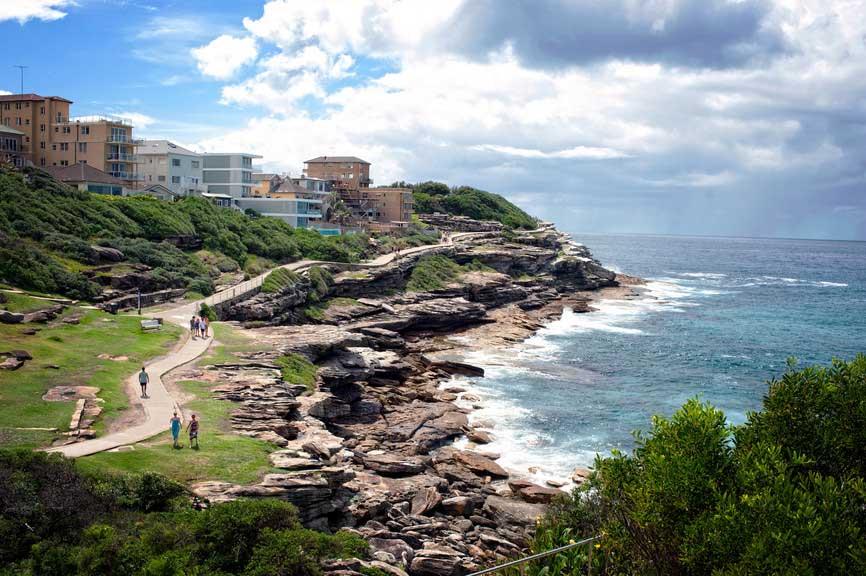 Bondi to Bronte Coastal Walk forecasting