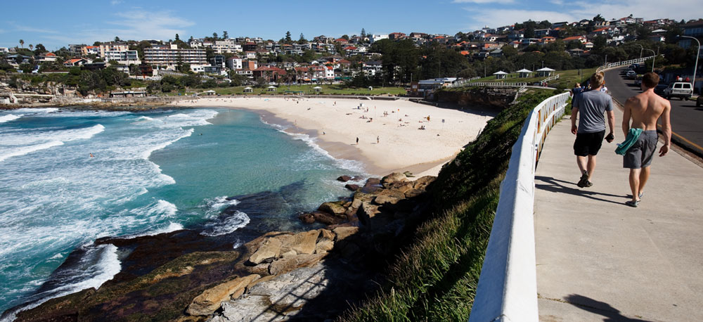 Bondi to Bronte beach walk
