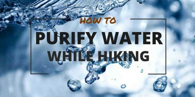 How to purify water while hiking