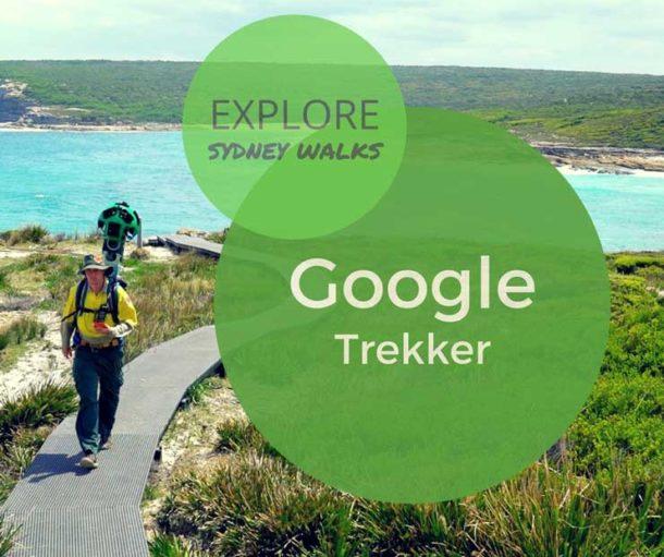 Google trekker Sydney walks