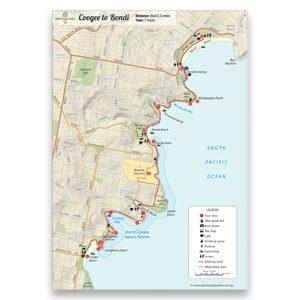 bondi to bronte walk map