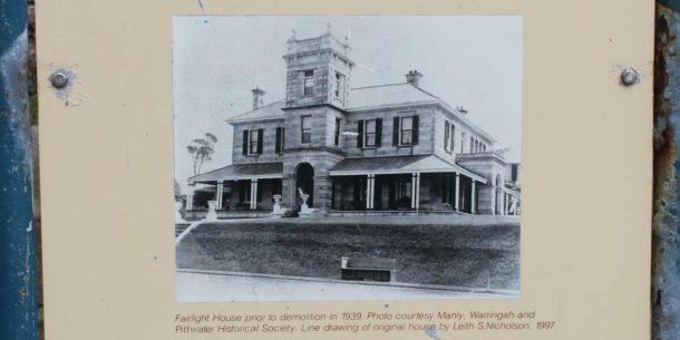 Fairlight House on the Spit to Manly walk, Manly Scenic Walkway