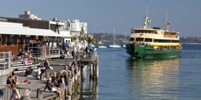 Manly Wharf on the Spit to Manly walk, Manly Scenic Walkway