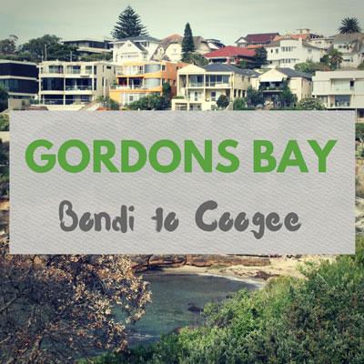Gordons Bay Bondi to Coogee