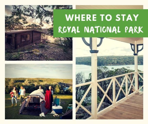 where to stay near royal national park