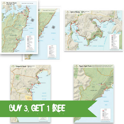 sydney coastal walks maps