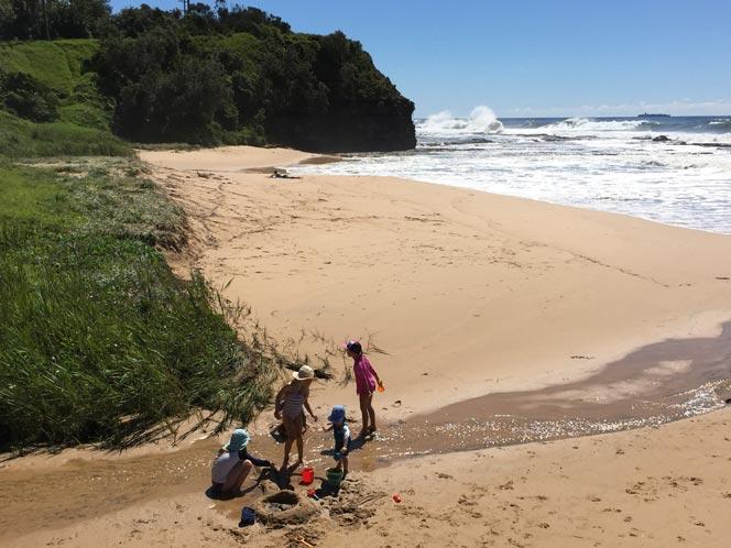 beach camping near Sydney