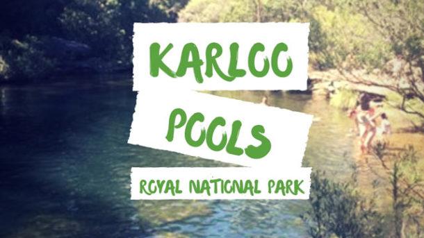Karloo Pools Track Walk Royal National Park