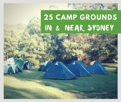 best camping spots near sydney