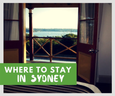 where to stay in sydney