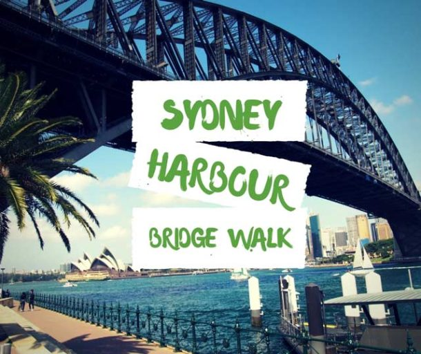 sydney harbour bridge walk free