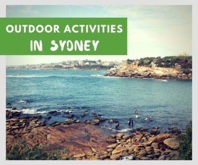 best outdoor activities to do in sydney