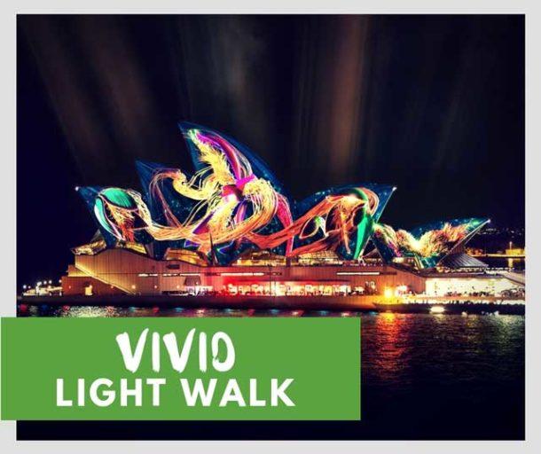 vivid sydney walk